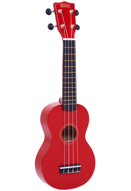 Mahalo MR-1 Red Soprano Ukulele